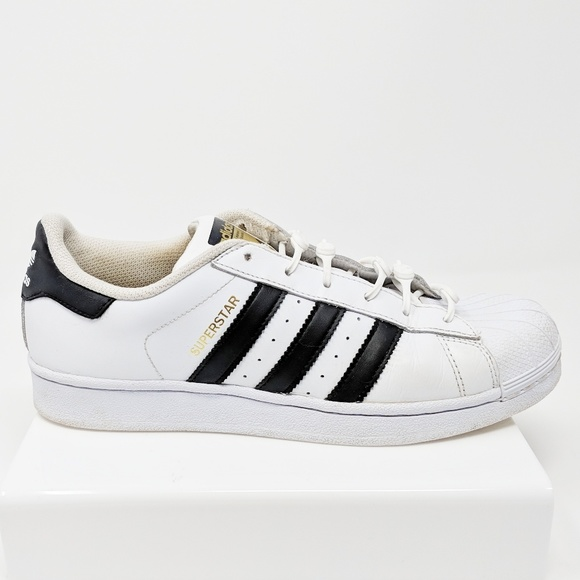 9d8f845df7b025 adidas Shoes - ADIDAS superstar shell toe stripe sneakers white
